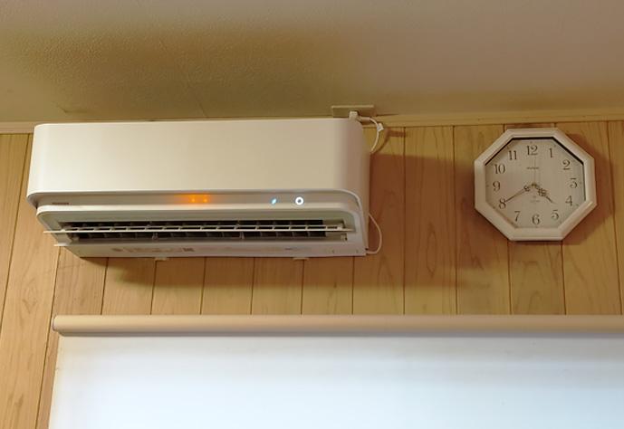 空気清浄機付きのエアコン