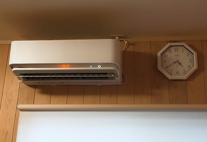空気清浄機付きエアコン